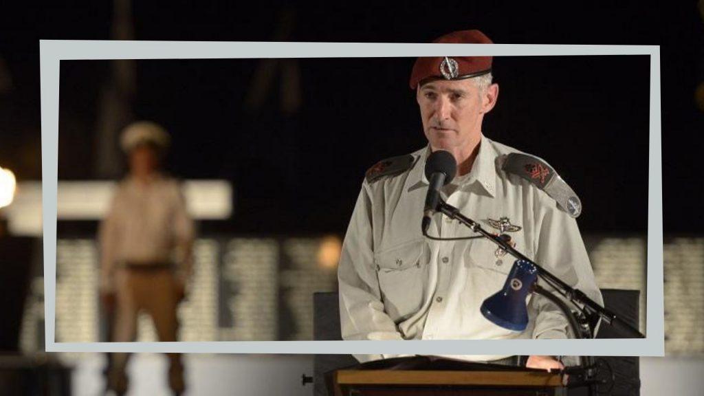 """סגן הרמטכ""""ל, יאיר גולן, נואם בערב יום השואה תשע""""ו"""